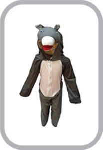 Donkey fancy dress for kids,Farm Animal Costume for School Annual function/Theme Party/Competiti