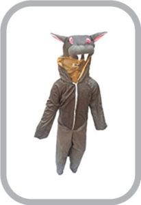 Hippo fancy dress for kids,Water Animal Costume for School Annual function/Theme Party/Competiti