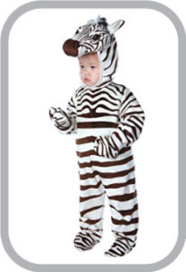 Zebra black Fancy Dress
