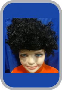 Curly Wig, Multicolour culing hair wigh