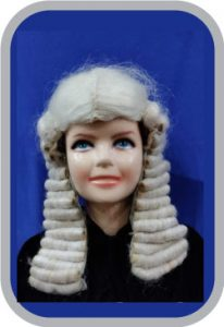 British Judge Wig
