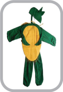 Corn fancy dress for kids,Vegetables Costume for School Annual function/Theme Party/Competition/