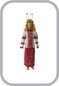 Mizoram Girl fancy dress for kids,International Traditional Wear for Annual function/Theme Party