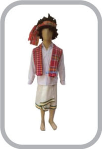 Tripura Boy fancy dress for kids,International Traditional Wear for Annual function/Theme Party/