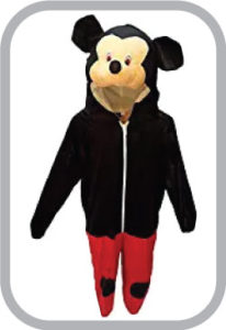 Mickey Mouse Fancy dress for kids,Diseny Cartoon Costume for School Annual function/Theme Party/Stage Shows/Competition/Birthday Party Dress