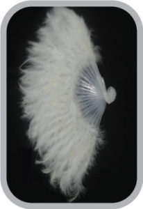 White Feather Fans