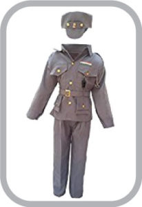 Nation Guarding Men Indian Air Force Fancy Dress For Kids,Our Helper/National Hero Costume For Annual Function/Theme
