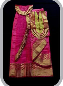 Bharatanatyam Dress Stitching from Saree - Pattu Saree stitching bharatanatyam, dance dress stitching