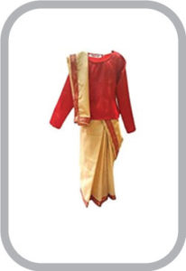 Bihu Saree Fancy dress for kids,Indian State/Dance Costume for Annual function/Theme Party/Compe