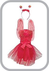Butterfly Red Dress