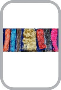 all colour wigs