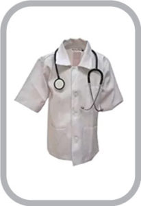 Docter Fancy Dress For Kids,Our Helper Costume for Annual Function/Theme Party/Competition/Stage