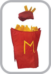 Mc Donald Food Costume