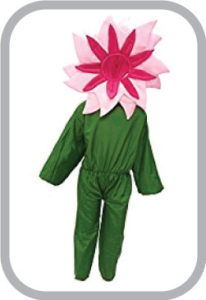 Pink flower fancy dress for kids,Nature Costume for Annual function/Theme Party/Stage Shows/Comp