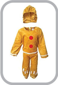 Ginger Bread fancy dress for kids,Fairy Teles,Story book costume for Annual function/Theme Party