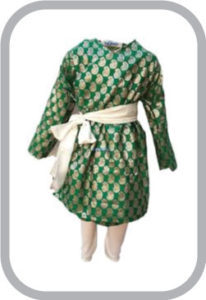 Gujrati Boy Green Color fancy dress for kids,Indian State Traditional Wear for Annual function/T