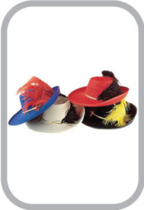 Colour Full Hat