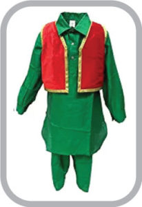 Kashmiri Boy fancy dress for kids,Indian State Traditional Wear Costume for Annual function/Them