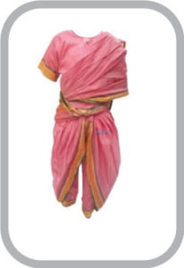 Marathi Girl fancy Dress for kids,Indian State Traditional Wear Costume for Annual function/Them