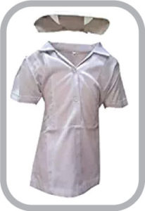 Hospital Staff Nurse Fancy Dress For Kids,Our Helper Costume For Annual Function/Theme Party/Competition/Stage