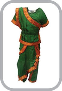 Odissi fancy dress for kids,Indian Dance Traditional Wear for Annual function/Theme Party/Compet