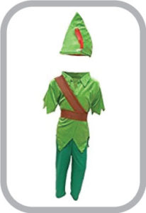 Peter Pan Fancy Dress for kids,Fairy Teles,Story book costume for Annual function/Theme Party/Co