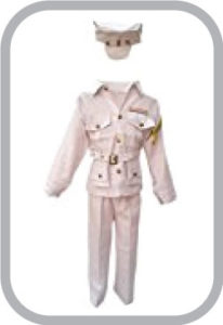 Pilot Fancy Dress For Kids,Our Helper Costume For Annual Function/Theme Party/Competition/Stage