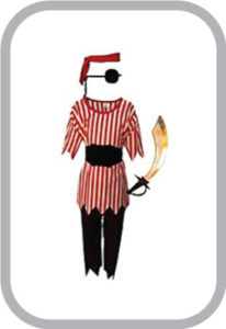 Pirot Fancy Dress for kids,Fairy Teles,Story book Costume for Annual function/Theme Party/Compet