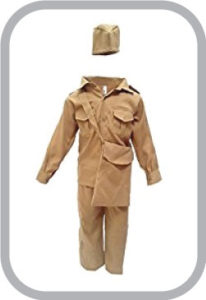 Postman Fancy Dress For Kids,Our Helper Costume For Annual Function/Theme Party/Competition/Stag