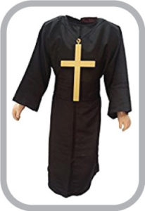 Church Father Priest fancy dress for kids,Catholic Costume for Annual function/Theme Party/Competition/Stage S