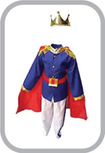 Prince Charming Fancy Dress for kids,Fairy Teles Characters,Story book Costume for Annual functi