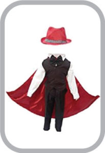 Magician Fancy dress for kids,Performer/Entertainer/Magical Shows Costume for Annual function/Th