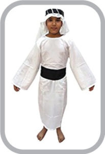 Arabian shaikh Traditional Wear fancy dress for kids,Global Costume for annual function/Theme Pa
