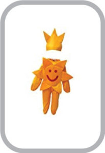 Smily Sun fancy dress for kids,Nature Costume for Annual function/Theme Party/Stage Shows/Compet