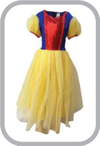 Snow White Fancy Dress for kids,Fairy Teles,Story Book Costume for Annual function/Theme Party/C