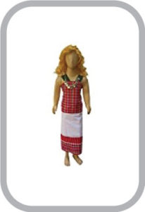 Tripura Girl Indian State Traditional Wear Costumes & fancy dress for kids