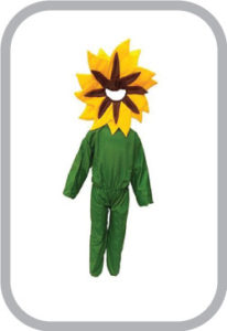 Yellow flower fancy dress for kids,Nature Costume for Annual function/Theme Party/Stage Shows/Co