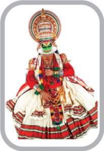 Traditional dance dress