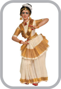 Kerala traditional dance dress hire sale chennai,