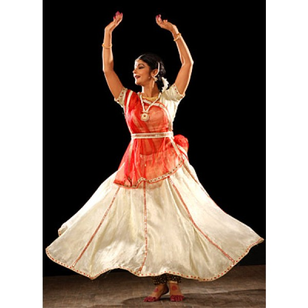 Kathak Fancy Dance Dress Costume