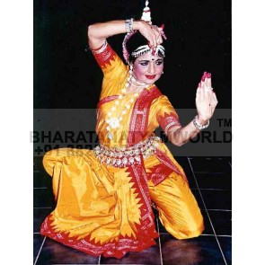 Odissi Fancy Dance Dress Costume