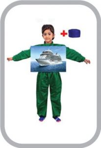 water ways ship transport fancy dress