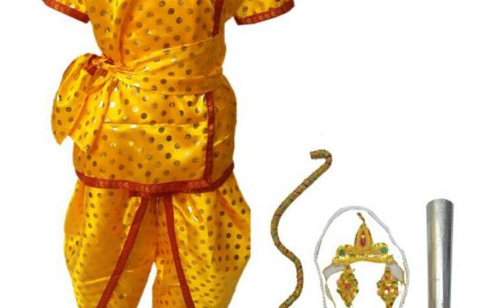 Shri Laxman Ramleela costume for kids, Rama's brother Laxman kids costume, Ramleela Shri Ram fancy dress for kids and adults, Laxman kids fancy dress buy online, Raja getup of Prince Laxman kids costume, Indian God kids fancy dress, Dussehra costume for Ram Chandra brothers for Kids, Laxmanji, Indian Prince ramayan costume, Indian King Mahabharat costume, Dhoti with Kavach and accessories, Boys mythology characters costume, Ramlila costumes, Lachman fancy dress