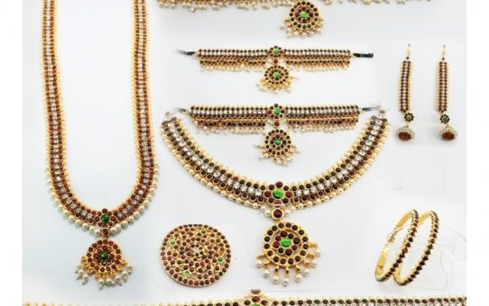 Bharatanatyam Jewellery Set Latest Designs Online Sale and Rental Shop