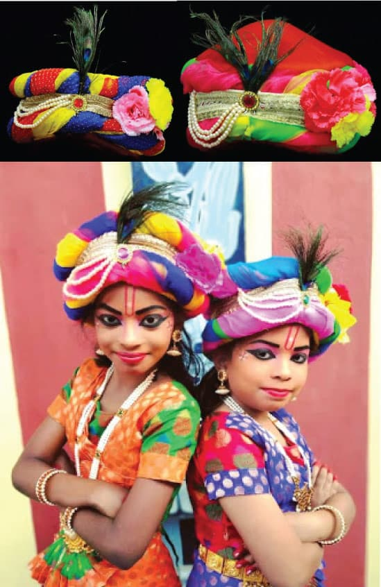Kids Musical instruments for fancy costumes, fancy costumes for rent, Vedic Vaani God Artificial Stone Crown, Mukut, Kireedam Hindu God Goddess Artificial Diamond Stone Crown, Mukut Kireedam for Puja,